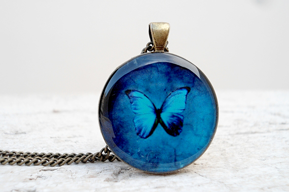 butterfly blue sherry s necklace product creations